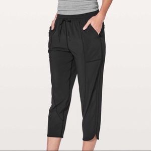 Lululemon Final Play Crop Pants Black Size 10